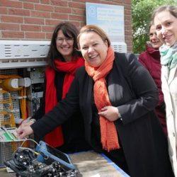 Breitbandausbau – NRW-Ministerin zu Besuch in Ahaus
