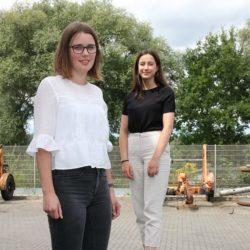 Neslihan und Sophia – herzlich Willkommen bei den Stadtwerken Ahaus